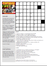 Klicka på korsordet för att få pdf-version att skriva ut