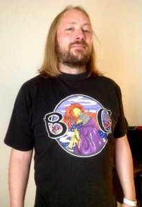 T-tröja från Amorica-turnén. Den börjar bli sliten, så jag köpte två nya att variera med.